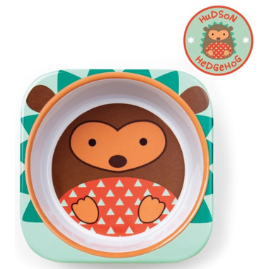 Skip Hop Zoo Tableware Melamine Bowl Hedgehog