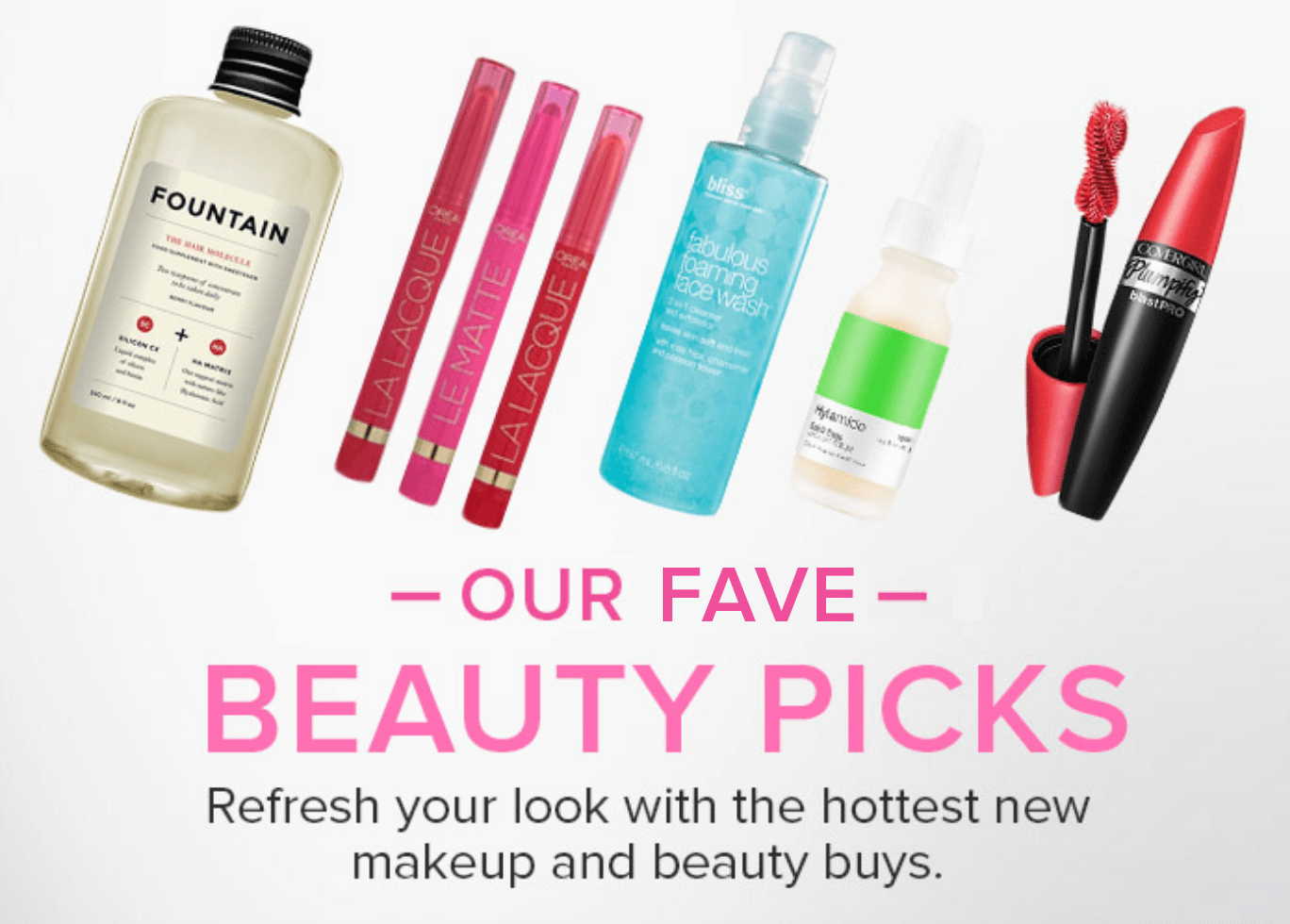 Top New Beauty Picks
