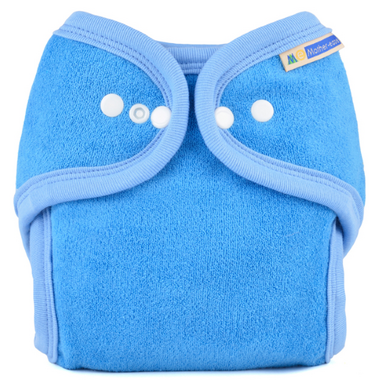 Mother ease One Size Cloth Diaper Blue
