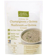 GoGo Quinoa Mushroom and Quinoa Cream Soup