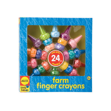 Alex Farm Finger Crayons