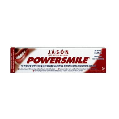 Jason Powersmile All Natural Whitening Fluoride Free Toothpaste
