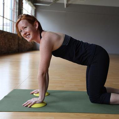 YogaJellies Aquamarine Cushioning Pads for Yoga & Joint Support