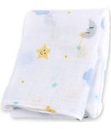 Lulujo Baby Muslin Cotton Swaddling Blanket Dreamland