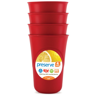Preserve Everyday Cups Pepper Red