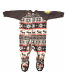 Snug As A Bug Kids Footed Onesie