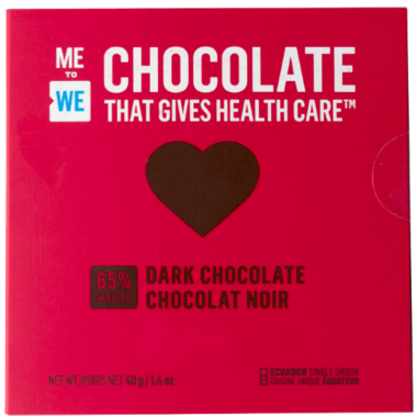 ME to WE Chocolate That Gives Health Care