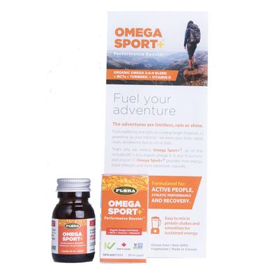 Flora Omega Sport + Performance Booster Sample