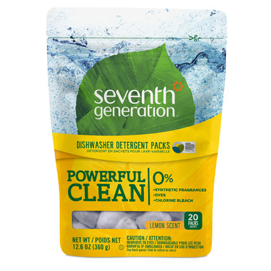 Seventh Generation Natural Automatic Dishwasher Packs