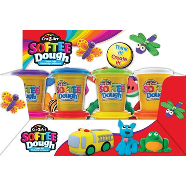 Cra-Z-Art Softee Dough Single Cans