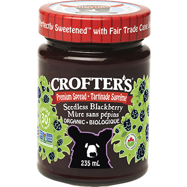 Crofter\'s Organic Blackberry Premium Seedless Spread