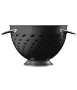 Savora 5 Quart Stainless Steel Colander Noir