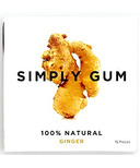 Simply Gum Ginger Natural Chewing Gum