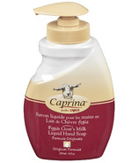 Caprina by Canus Fresh Goat's Milk Liquid Hand Soap Original Formula