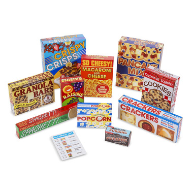 Melissa & Doug Let\'s Play House! Grocery Shelf Boxes