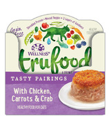 Wellness TruFood Wet Cat Food Tasty Pairings with Chicken, Carrots & Crab