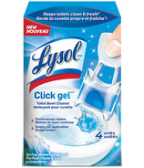 Lysol Click Toilet Bowl Cleaner Spring Waterfall