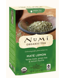 Numi Organic Mate Lemon Green Tea