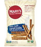 Mary's Organic Crackers Sea Salt Pretzels