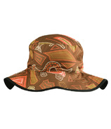 Banz Brown Reversible Bucket Hat