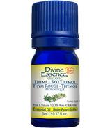 Divine Essence Thyme Red Thymol Essential Oil