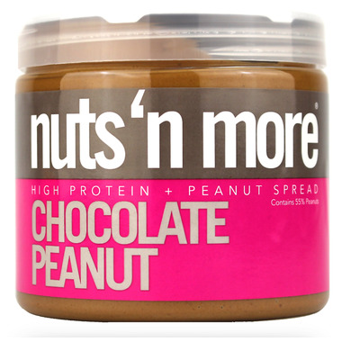 Nuts n More Chocolate Peanut Butter High Protein Spread