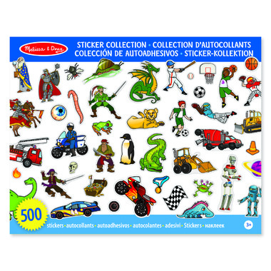 Melissa & Doug Sticker Collection Blue