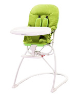 Guzzie & Guss Tiblit High-Chair With Microfiber Green