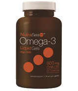 NutraSea DHA 2x Concentrated High DHA Omega-3 Softgels