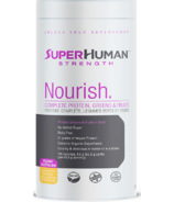 Super Human Nourish Vegan Greens and Fruits Protein