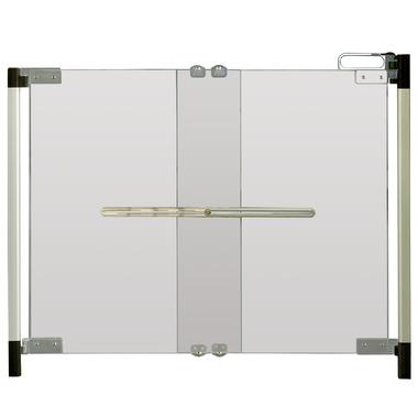 Qdos Crystal Hardware Mounted Gate