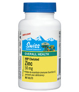 Swiss Natural Sources HVP Chelated Zinc Tablets
