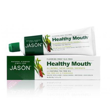 Jason Healthy Mouth Fluoride Free Toothpaste