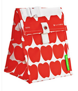 Lunch Skins Red Apple Lunch Tote