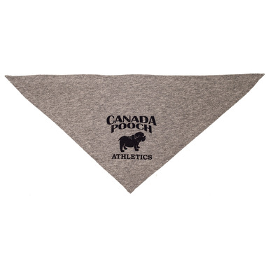 Canada Pooch Cozy Caribou Bandana Grey Sizes S-XL