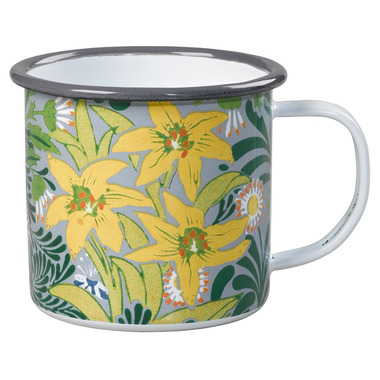 V&A Enamel Mug by William Morris