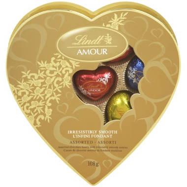 Lindt Lindor Heart Love Assorted Chocolates