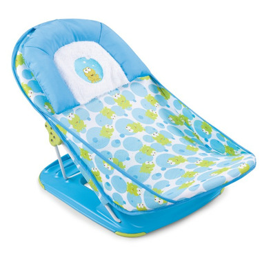 Summer Infant Mother\'s Touch Deluxe Baby Bather Happy Frog
