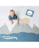 Lulujo Baby's First Year Milestone Blanket & Cards Set