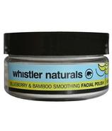 Whistler Naturals Blueberry & Bamboo Smoothing Facial Polish