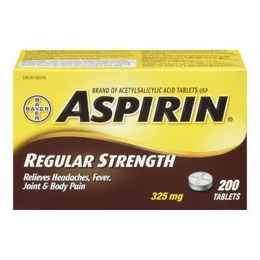 Aspirin Regular Strength Tablets