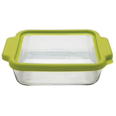 Anchor 8 Inch Square Cake Pan with TrueFit Lid