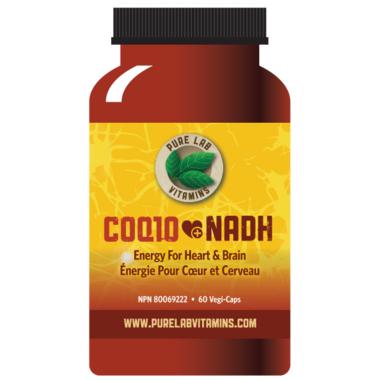 Pure Lab Vitamins CoQ10+NADH