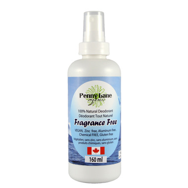 Penny Lane Organics Spray Deodorant Fragrance Free