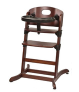 Guzzie & Guss Banquet Wooden High-Chair Chocolate