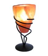 Lumiere de Sel Himalayan Crystal Salt Cone Tea Light Holder