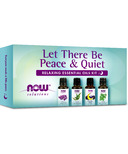 Now Essential Oils Let There Be Peace & Quiet Relaxing Essential Oils Kit