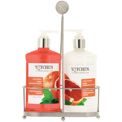 Buy kitchen by upper canada hand wash lotion caddy from Hand wash and lotion caddy