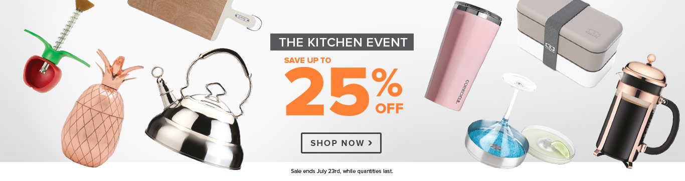 Save up to 25% on the Kitchen Event