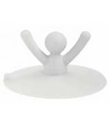 Umbra Buddy Drain Stop in White